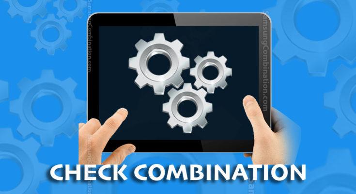 check combination compatibility tool