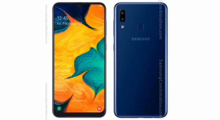 Samsung A205U Combination file Factory binary FRP file