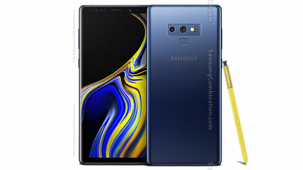 Samsung N960U U2 Combination files Binary 2 Samsung Note 9 FRP file