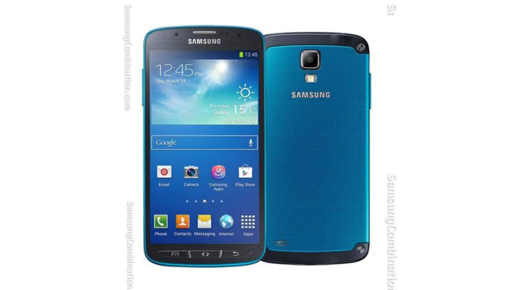 Samsung I537 UB Combination files Binary B Samsung S4 Active FRP file