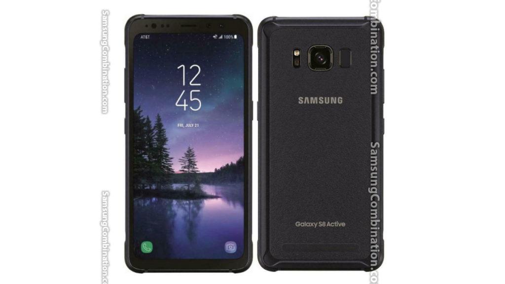Samsung G892A U2 Combination files Binary 2 Samsung S8 Active FRP file